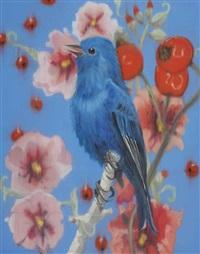 blue smile by ann craven
