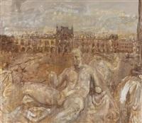 le louvre by valery koshlyakov