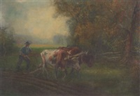 working in the fields by cyril wiseman herbert