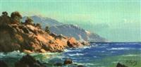 bord de mer, algérie by pierre faget-germain
