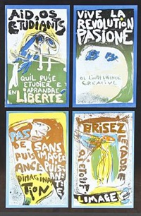 vive la revolution pasioné (in 4 parts) by asger jorn