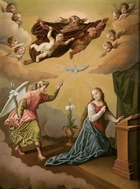 the annunciation by emmanuel kratky