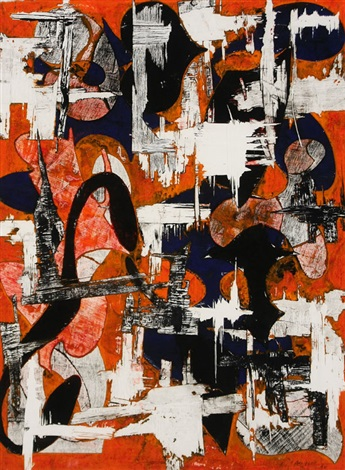 untitled orange by charles arnoldi