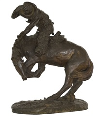 the rattlesnake by frederic remington