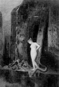 eva med ormen by ernst oskar simonson-castelli