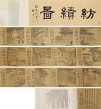 纺绩图 by jiao bingzhen