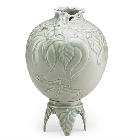 Fine Vase On Stand By Cliff Lee On Artnet