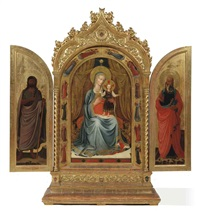 untitled (triptych) by fra angelico