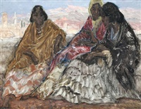 trois femmes andalouses by emile gastemans