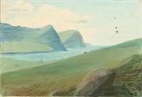 parti fra videreide, færøerne by joannis kristiansen
