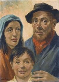 eine bauernfamilie by han van meegeren
