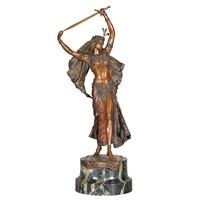 figure of judith by franz bergman