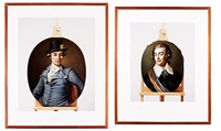 adolf ludvig stierneld (2 works, 1 smaller) by matts leiderstam