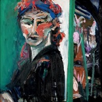 self-portrait by arlene amaler-raviv
