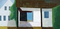 composition with house, bornholm by axel munch