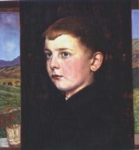 portrait eines knaben by hans anetsberger