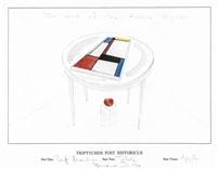 triptychos post hystoricus (piet mondriaan) by braco dimitrijevic