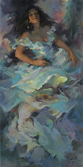 blue dancer by marilyn bendell