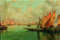 venetian canal by nicholas briganti