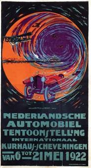 nederlandsche automobiel tentoonstelling kurhaus-scheveningen by atelier dispo & v. d. werf