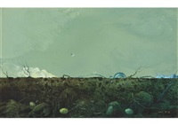 green earth and sky by hiroshi asada