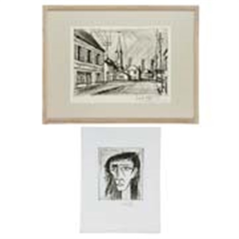 2点組 2 works by bernard buffet