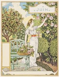 les mois (set of 12) by eugène grasset