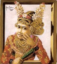 portrait of a dancer by abdul aziz