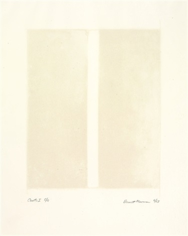 canto i by barnett newman