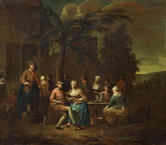 zechende gesellschaften 2 works by jan baptist lambrechts