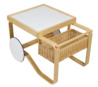 a tea trolley 900 by alvar aalto