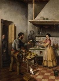 galanteo en la cocina by andrés cortés y aguilar