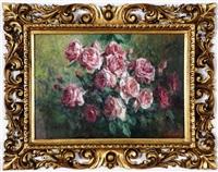 natura morta di fiori by licinio barzanti
