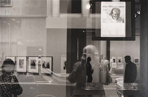 self portrait at the museum of modern art 211970 by beaumont newhall