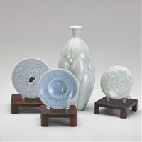 carved items (4 works) by janel jacobson