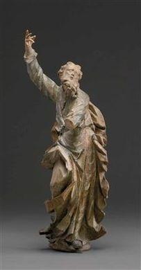 apostelfigur heiliger paulus by matthias steinl