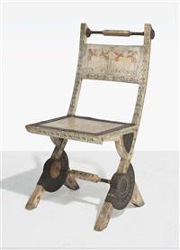 side chair by carlo bugatti