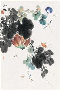 红瓜草虫 by xiao lang