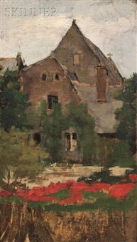 village church by ellen day hale