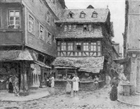 altstadt von frankfurt by peter becker