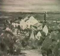 sudliche landschaft by theodor kern