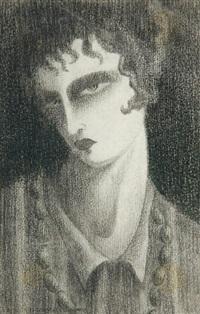 visage de femme by jacques vaché