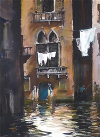 a venetian backwater by roy petley