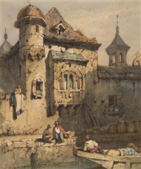 near the canal by samuel prout
