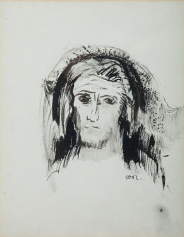 portrait de saint antoine by odilon redon