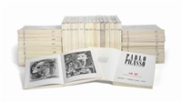 pablo picasso - catalogue raisonné (set of 34 vols.) by christian zervos