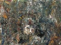 petit visage sur grande toile by eugène leroy