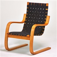 lounge chair 406, finland by alvar aalto