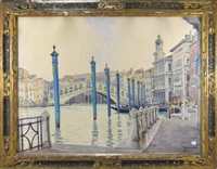 vue de venise by tony georges roux