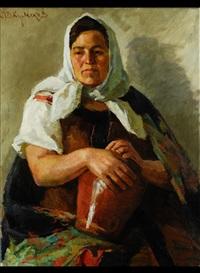 in der stube by ivan semionovich kulikov
